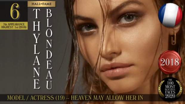 Фото №14 - Международный рейтинг: 100 самых красивых женских лиц 2020 года