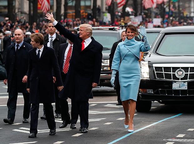 Фото №8 - Рождение fashion-звезды: Мелания Трамп на инаугурации