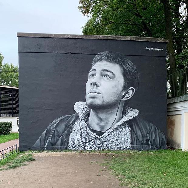 Фото №5 - В Бразилии появилось граффити с портретом донны Розы из фильма «Здравствуйте, я ваша тетя» (фото и видео)