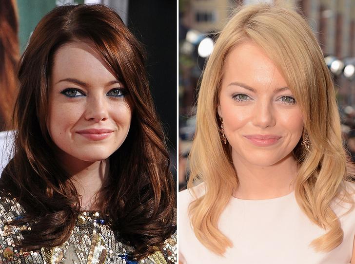 Фото №8 - Блондинка или брюнетка: 30 звездных примеров, чтобы вдохновиться или одуматься