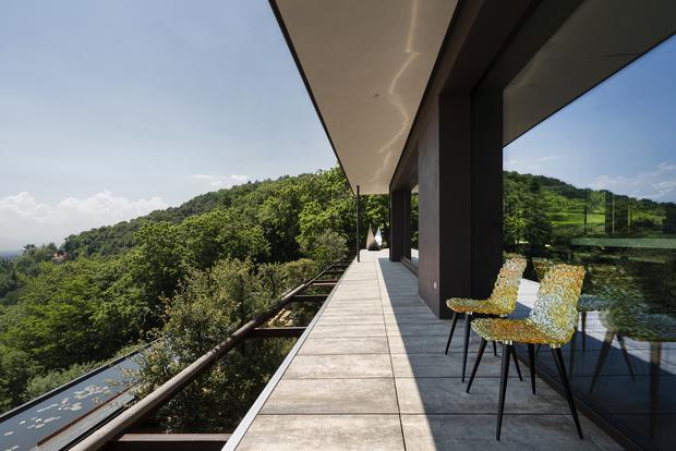 Фото №3 - Вилла в горах Северной Италии по проекту Дулио Дамилано
