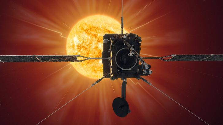 Фото №1 - Зонд Solar Orbiter сделал самые близкие в истории снимки Солнца