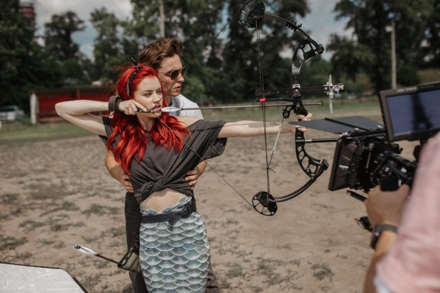 Фото №3 - Мини-интервью: Оля Шелби— о казусах на съемках клипа Sladko и о выходе нового трека