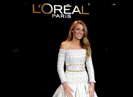 Фото №1 - Блейк Лайвли стала новым лицом L'Oreal Paris
