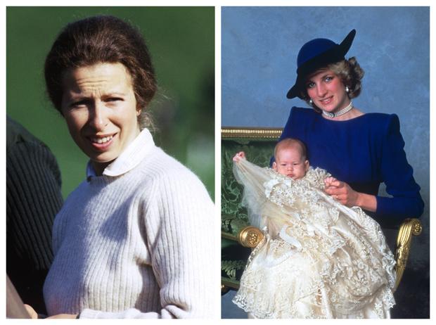 Фото №1 - Оскорбленные чувства: кто стал крестными принца Гарри, и что обидело принцессу Анну