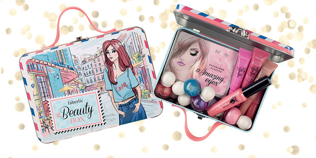 Фото №2 - Коллекция #BeautyBox от Маши Вэй и Faberlic