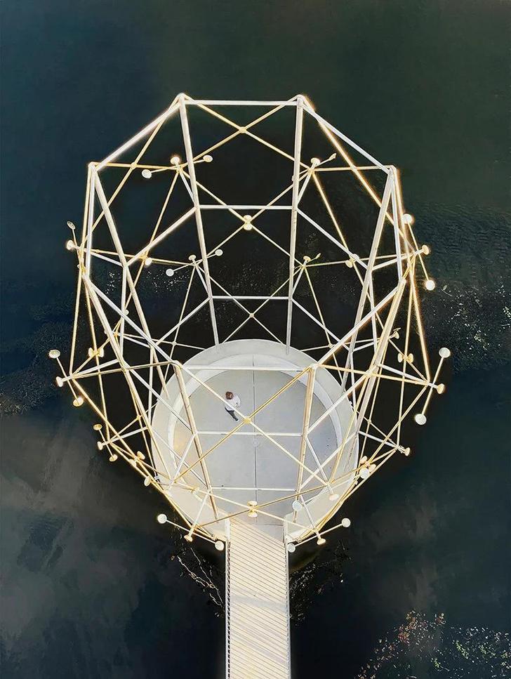 Фото №2 - Cмотровая площадка по дизайну братьев Буруллек во Франции