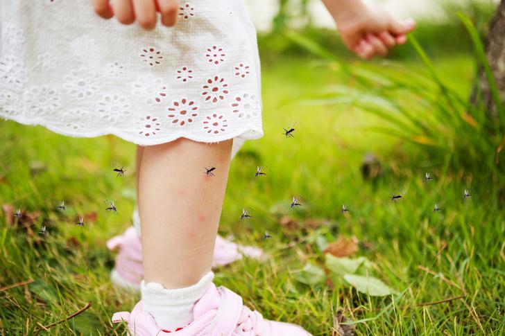 Средства от комаров для детей до года