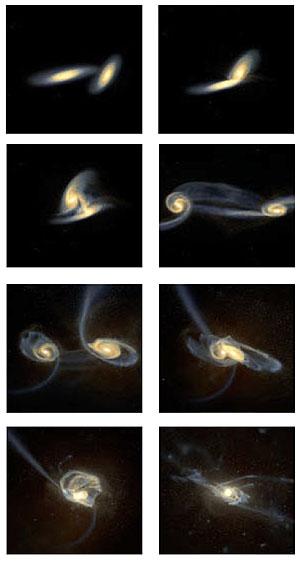 Фото №1 - Почему галактики имеют дискообразную форму?