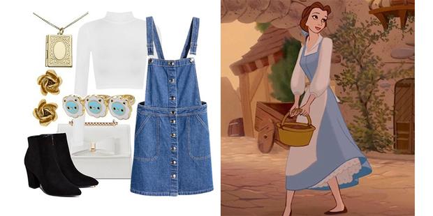 Фото №5 - Что носить весной: 8 модных образов в стиле Принцесс Disney