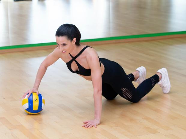 Фото №11 - Солнечная активность: обзор лучших фитнес-упражнений для пляжа
