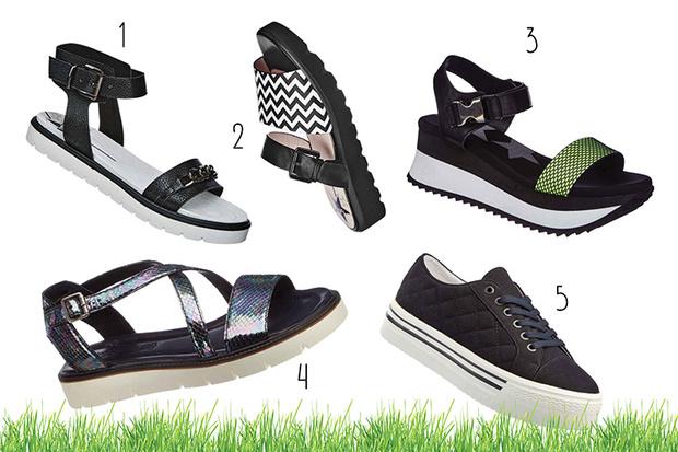 Фото №1 - Топ-20: Обувь на лето