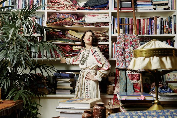 Фото №1 - Дом текстильного дизайнера Натали Фарман-Фармы в Лондоне