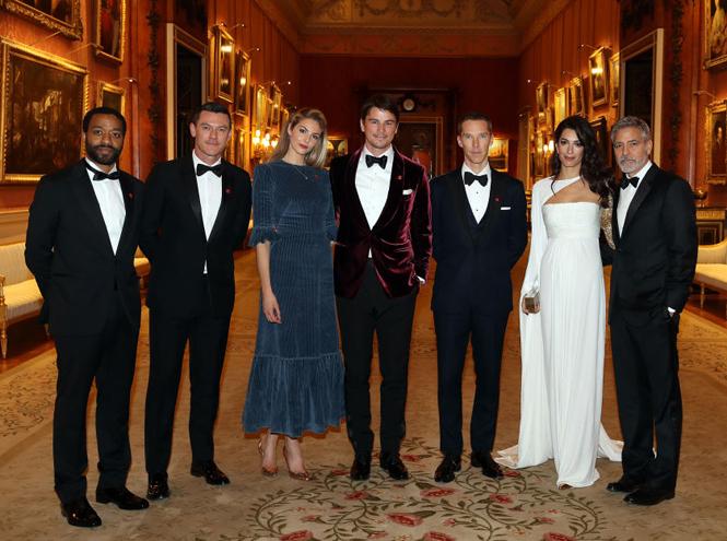 Фото №3 - Как Джордж и Амаль Клуни становятся близкими друзьями Виндзоров
