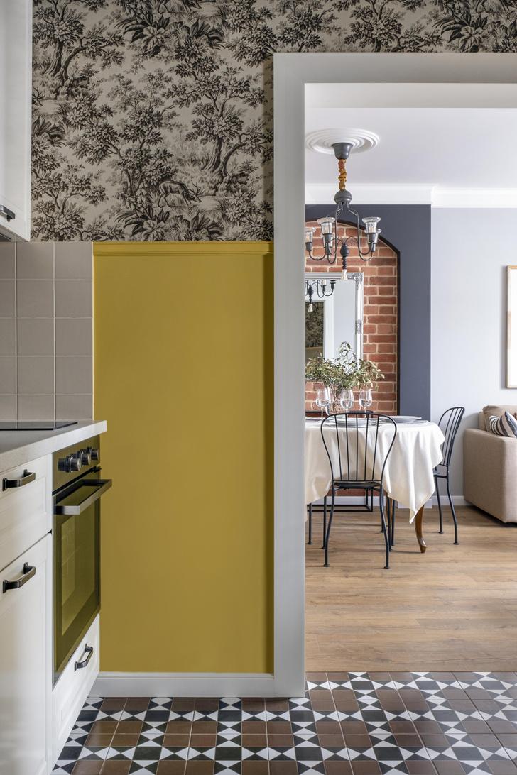Фото №5 - Двухкомнатная квартира 37 м² с кухней в коридоре