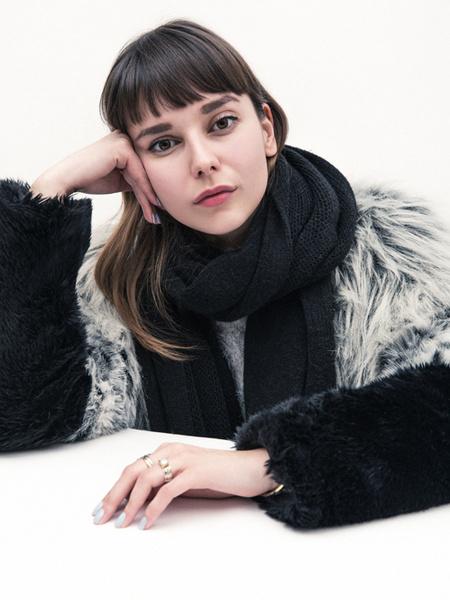 Фото №1 - Елена Кончаловская в проекте Marie Claire «Золотое сечение»