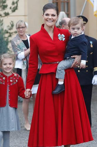 Фото №42 - Принц Оскар: два года в фотографиях