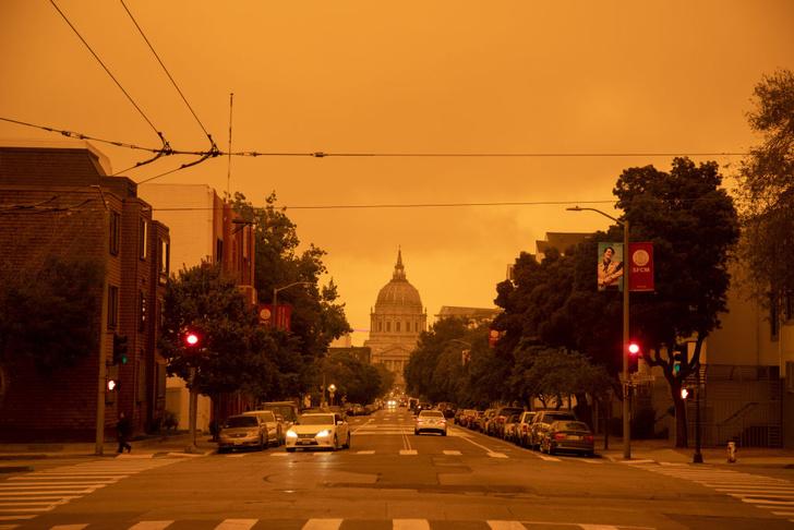 Фото №1 - Сан-Франциско в дыму