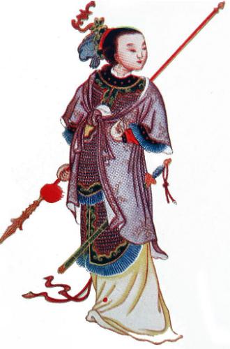 Фото №3 - Через интриги к власти: история У Цзэтянь— наложницы, ставшей императором Китая