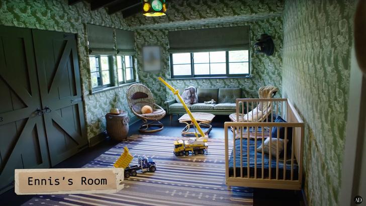 Кирстен Данст показала детскую комнату сыновей