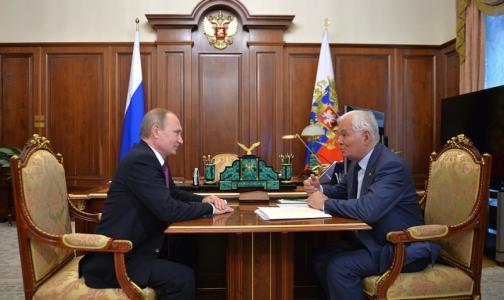 Фото №1 - Путин обсудил с Рошалем саморегулирование работы врачей