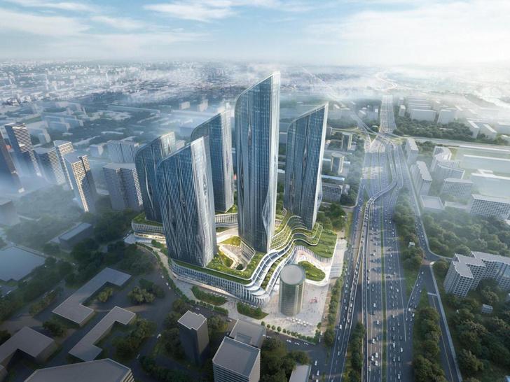 Фото №1 - Zaha Hadid Architects построит жилой комплекс в Хорошево-Мневниках