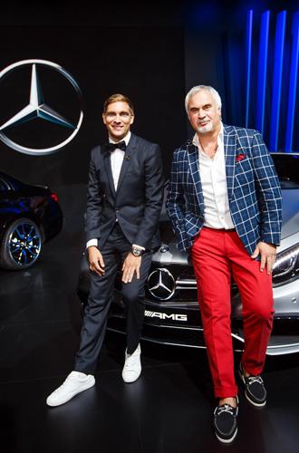 Фото №3 - Полина Гагарина и другие звёзды на вечеринке Mercedes-Benz