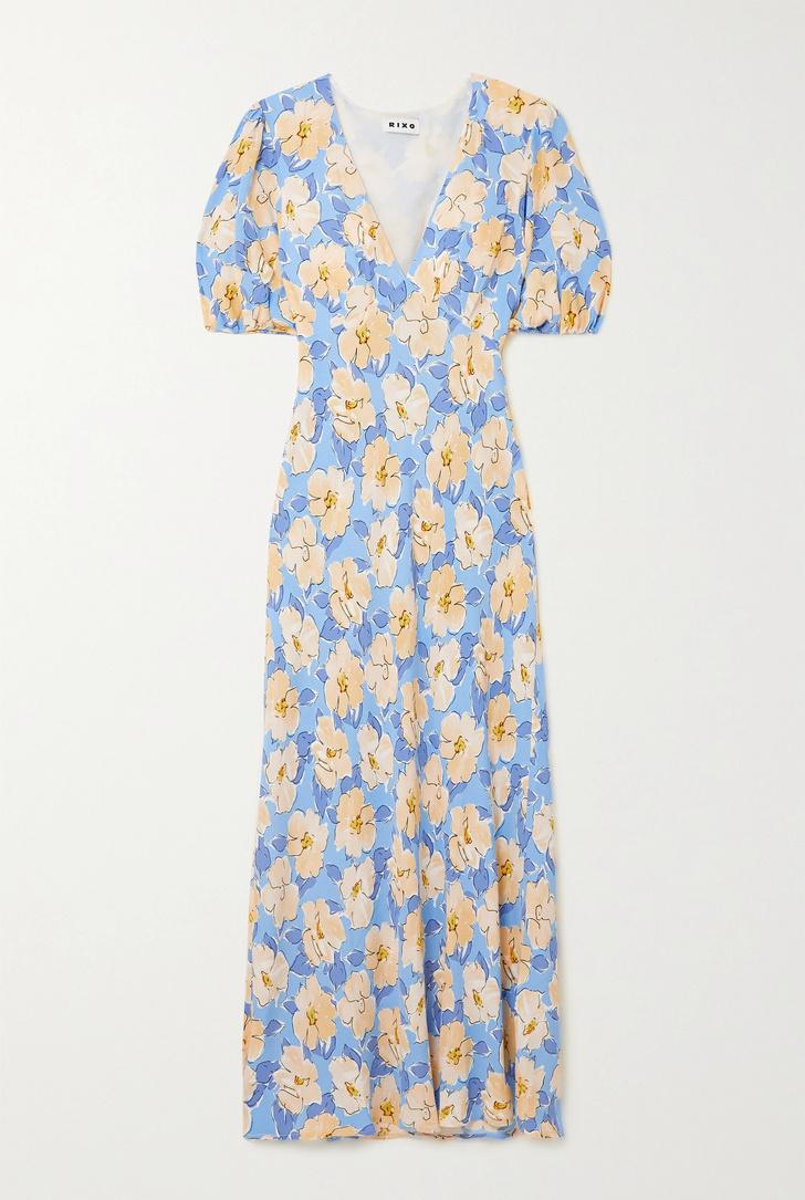 Фото №6 - Летом всем нам нужно платье в цветочек. Вот 20 нежных вариантов