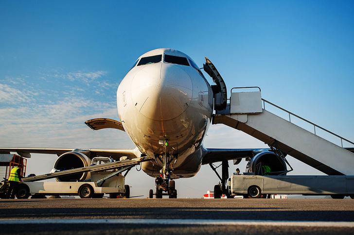 Фото №1 - Почему пассажиры садятся в самолет слева?