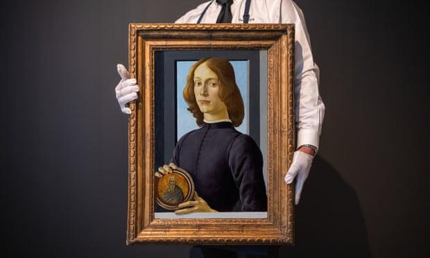 Фото №1 - Работа Боттичелли будет выставлена на аукцион за рекордную сумму