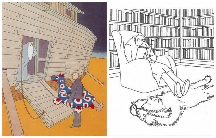 Фото №1 - 29 тонких карикатур Мирослава Бартака