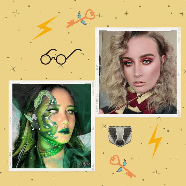 Фото №1 - Вдохновляемся «Гарри Поттером»: крутые макияжи в стиле всех факультетов Хогвартса ✨