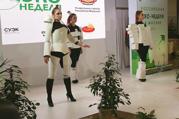 Фото №4 - Театр моды Артура Браже выступил на Экологической неделе в Москве