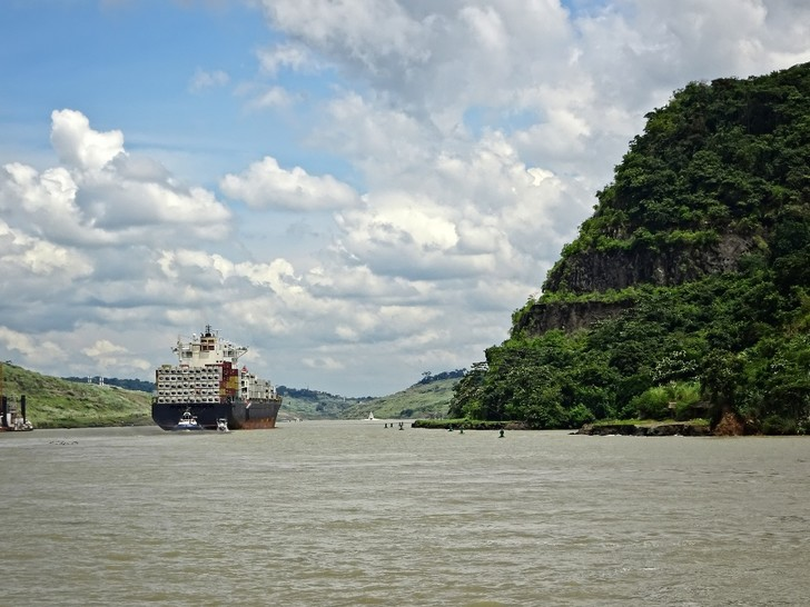 Фото №7 - Разрезая континенты: 9 фактов о Панамском канале