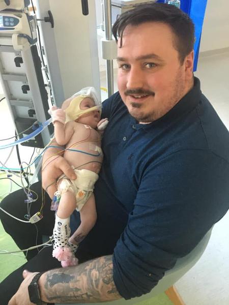 Фото №3 - Шестимесячная малышка с пороком сердца победила коронавирус