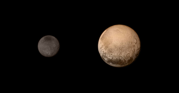Фото №1 - Зонд New Horizons подошел к Плутону на рекордно близкое расстояние