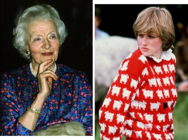 Фото №1 - Бабушка принцессы Дианы: как леди Фермой «устроила» брак внучки и принца, и почему пожалела об этом позже