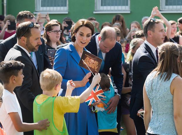 Фото №1 - Немецкие СМИ признали Кейт Миддлтон второй принцессой Дианой