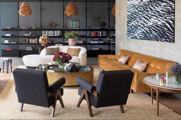 Фото №8 - Тренды 2021: диван + разноцветные кресла