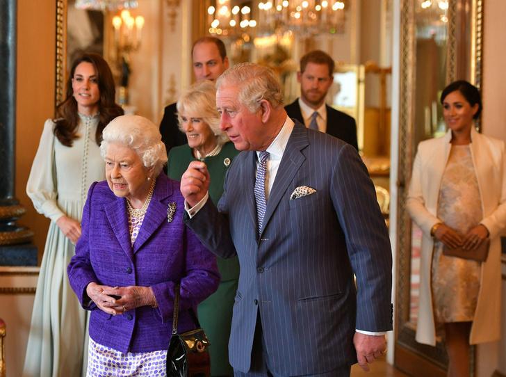 Фото №6 - Герцоги Кембриджские и Сассекские на приеме в Букингемском дворце
