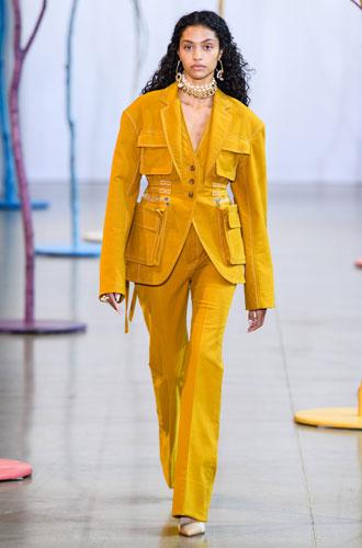 Фото №18 - От классики до сочных красок: лучшие костюмы с Недели моды в Нью-Йорке