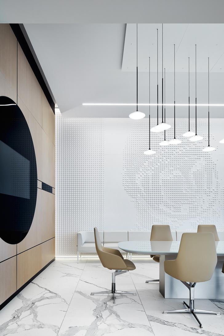 Фото №17 - VIP-зал в аэропорту «Гагарин» по проекту VOX Architects