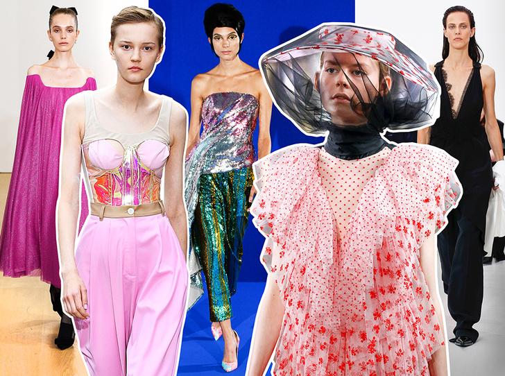 Фото №1 - 10 трендов весны и лета 2019 с Недели моды в Лондоне