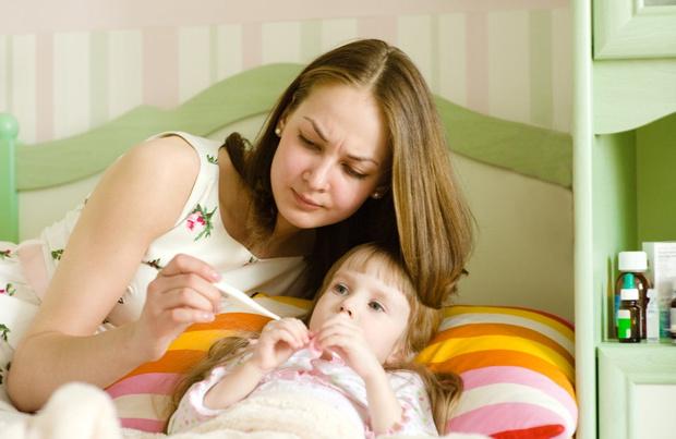 повышенная температура тела без симптомов у ребенка