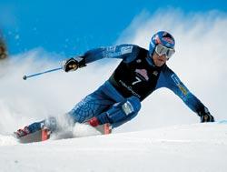 Фото №1 - Как начинались горные лыжи?