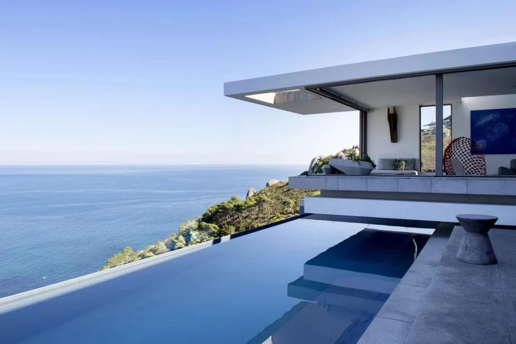 Фото №1 - Модернистский дом на горной вершине
