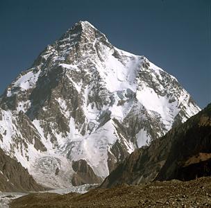 Фото №1 - Российские альпинисты первыми прошли западную стену K2