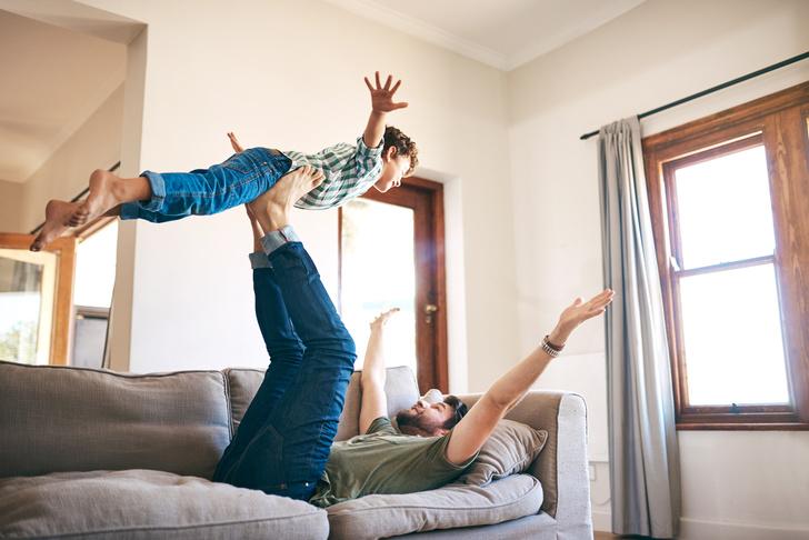 Фото №1 - Почему ребенку обязательно нужно играть с папой