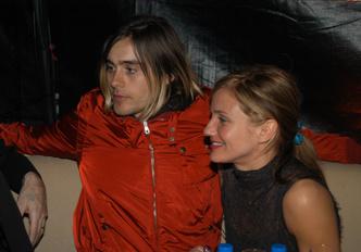 Джаред Лето и Камерон Диас, 2003 год