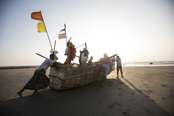 Фото №1 - Бангладешские рыбаки